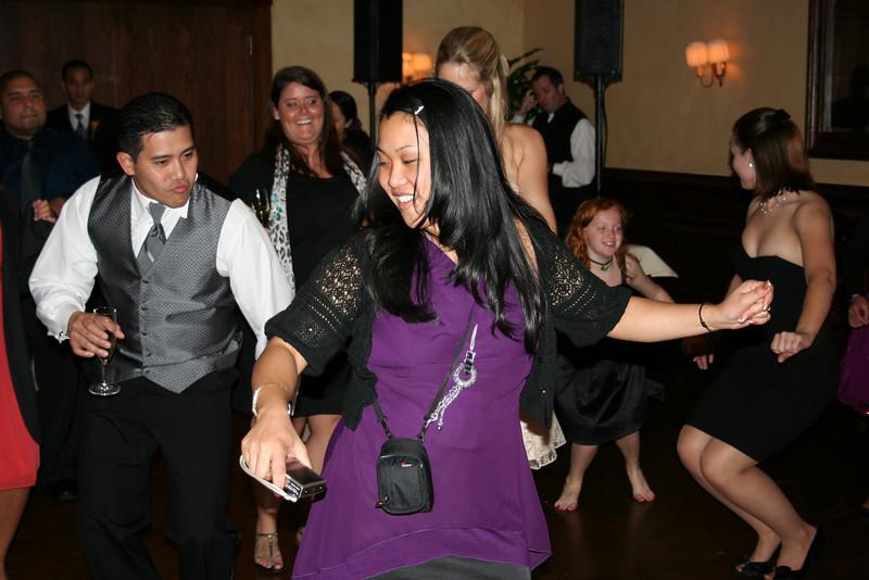 dancin' at julie's wedding
