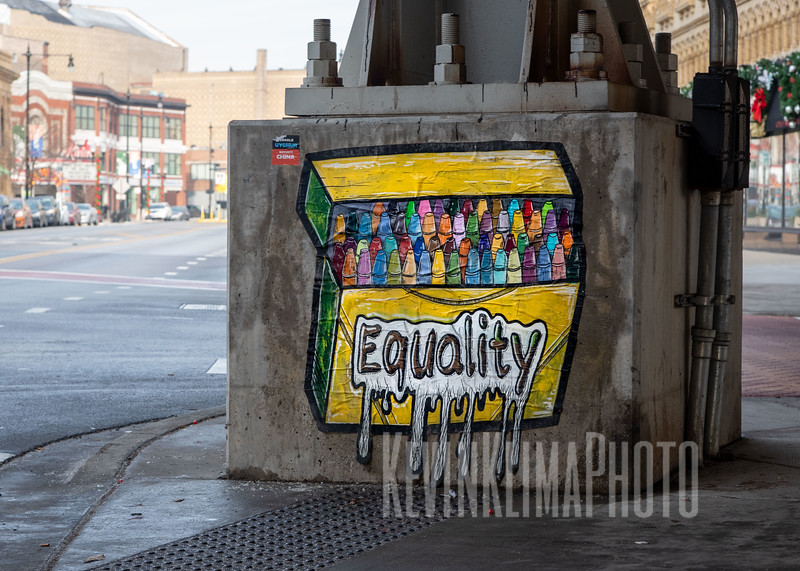 Equality Street Art in Uptown