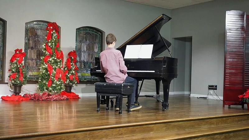 Kevin's Piano Recital 2016