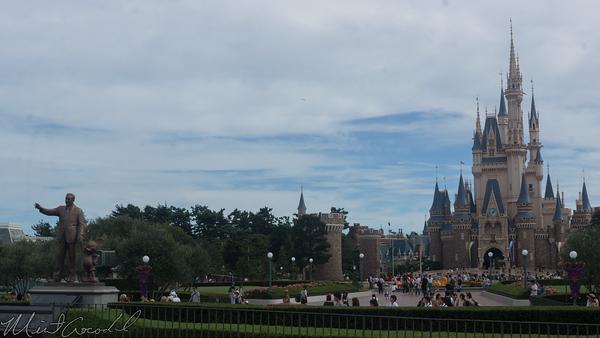 Tokyo Disney Resort, Tokyo Disneyland, World Bazaar, Hub, Cinderella Castle, Cinderella, Castle