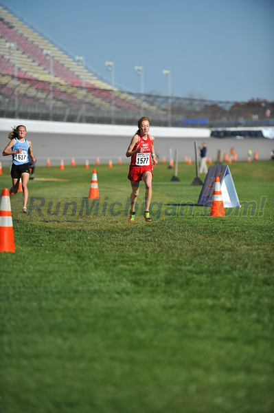 Finish Gallery 3, D3 GIRLS - 2016 MHSAA LP XC FINALS
