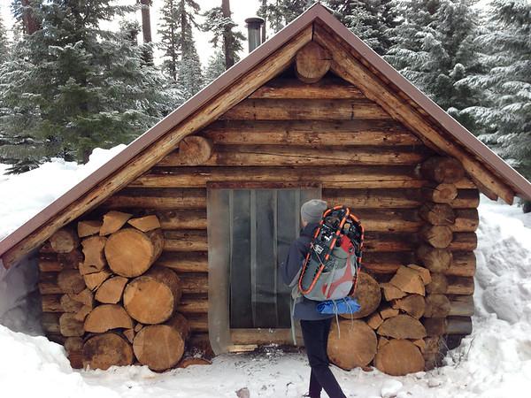 Brown Mt Shelter, 2013