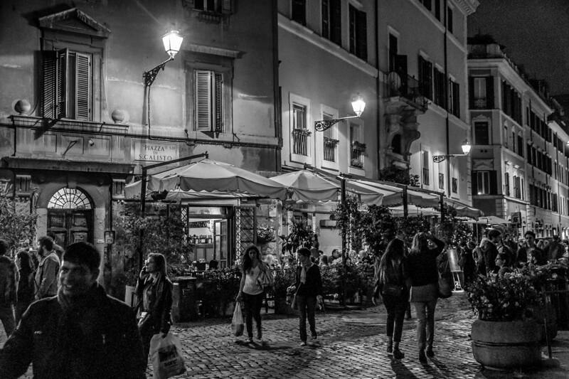 Trastevere scenes