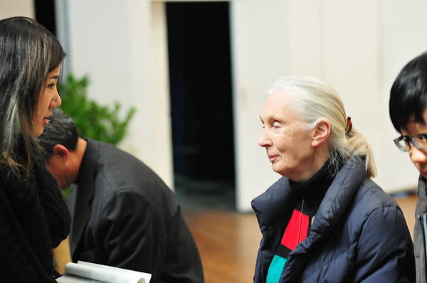 KOREA-Picture set 21 - Jane Goodall