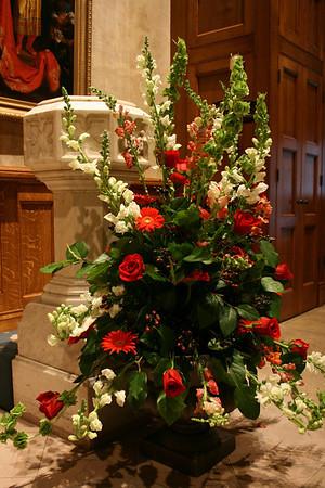 Pentecost flowers 2009