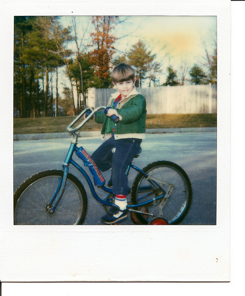 Mike learns to ride perhaps the sorriest looking bike of all time.