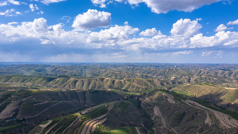 Loess Plateau by Drone
