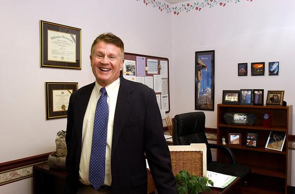 Larry Feeley, interim principal, Shady Gr ES
