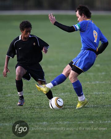 Minneapolis Edison v DeLasalle Boys Soccer 9-29-11