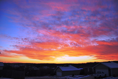 Sunset and Big Brutus