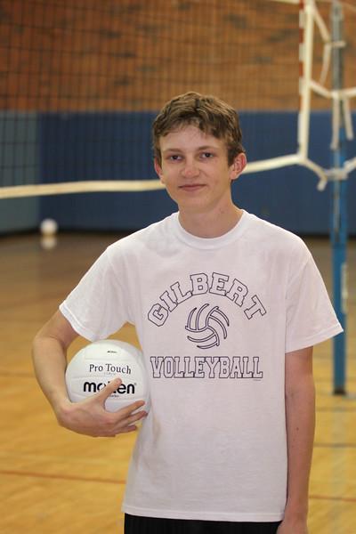 Tyler Farley, Gilbert High School Training Team Boys Volleyball 2010
