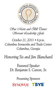 2013 10 21 Pastoral Institute Sue Marie and Bill Turner Servant Leadership Gala
