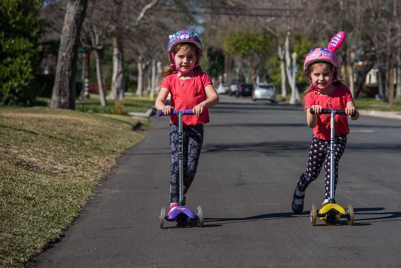 Scooting Girls