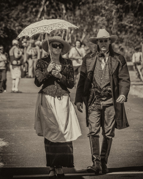 Time Travellers? Taken on September 4th, on the second day of the 2011 Civil War reenactment at Fort Stevens.