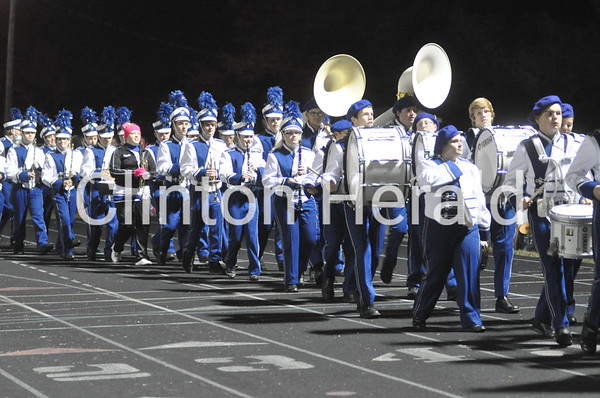 Camanche marching band (10-10-14)