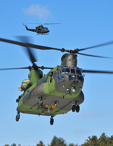 Mike Reyno, CH147F Chinook and CH146 Griffon, RCAF