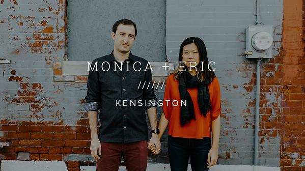 MONICA + ERIC ////// KENSINGTON