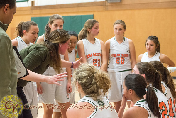 1-16-18 Girls Varsity Basketball vs Grace Brethren