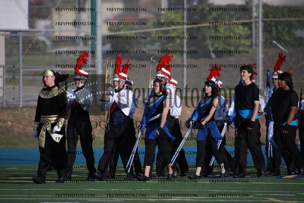 Nov 6th, 2010 SCSBOA Mira Mesa Band Review and Field Show Tournament