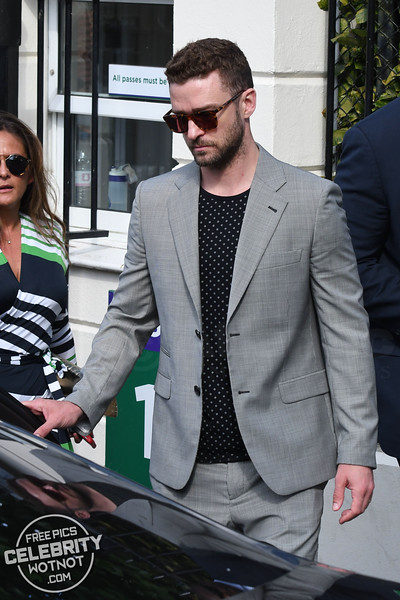 Justin Timberlake & Jessica Biel Look Like a Perfect Match In London