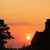 Sunset Chimneys - Hunstanton