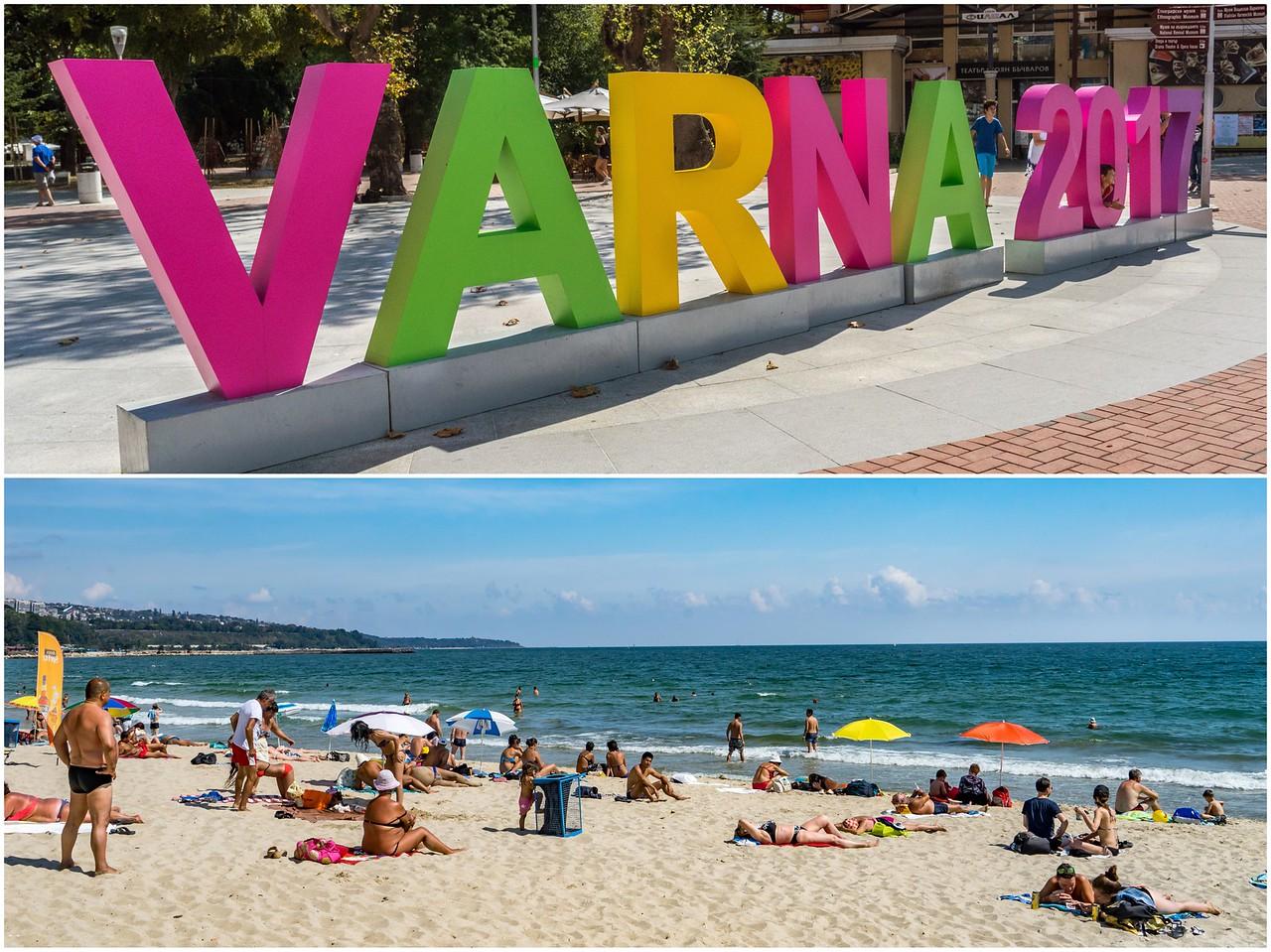 Bulgarian Beach Town Varna