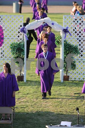 Denair Middle School graduation 2012