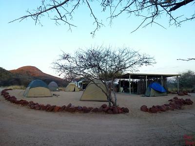 Bushcamp at Africa Okonjima, Namibia