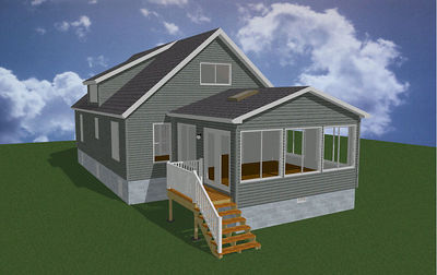 1 STORY ADDITION/DETACHED GARAGE - NEW SIDING/VINYL WINDOWS - ROYAL OAK,  MI