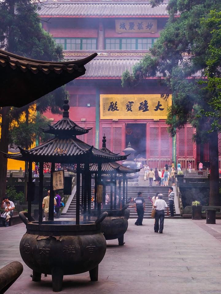 杭州灵隐寺,著名景点