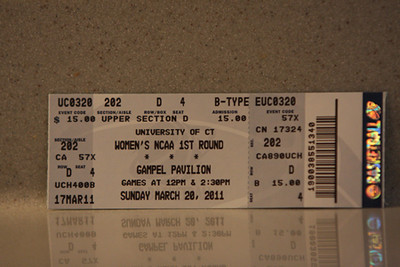 2011 NCAA First Round (v. UConn) March 20, 2011, cont.