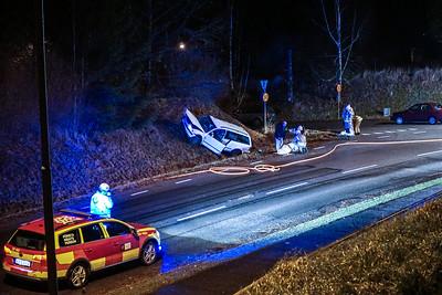 Trafikolycka Järnvägsgatan Lammhult