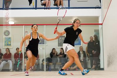 2014-11-08 Mina Shakarshy (Brown) and Sue Ann Yong (Harvard)