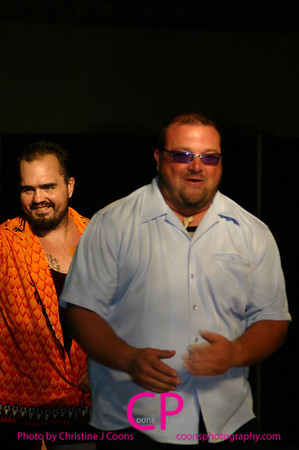 Gutter and Cody Steele vs John E. Bravo and Geza Kalman Jr