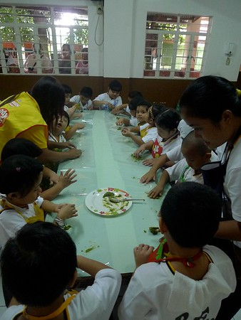 Preschool Nutrition Month Preparation Activity Sy 2012 - 2013