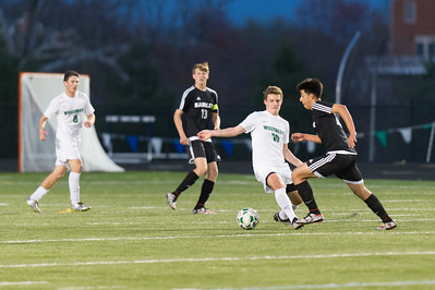 Boys Soccer - Varsity: Handley vs Woodgrove 4.13.2016 (by Jeff Vennitti)
