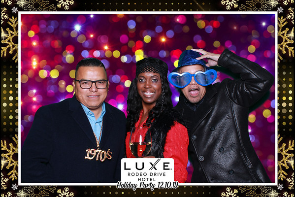 12.10.2019 Luxe Beverly Hills Holiday Party