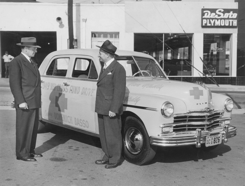 1949, Red Cross Car Donation