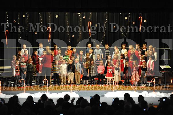 Elem K&1st gr Christmas Choral Program 12-14-10