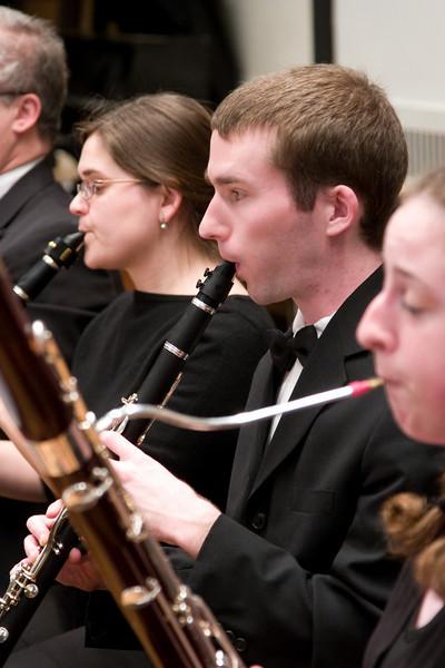 James Livengood, clarinet -- Hopkins Symphony Orchestra, March 2008
