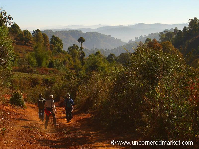 Hiking - Inle Lake, Burma