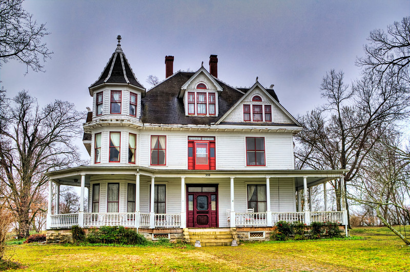 Red Raven Inn - Yellville, AR ca. 1904