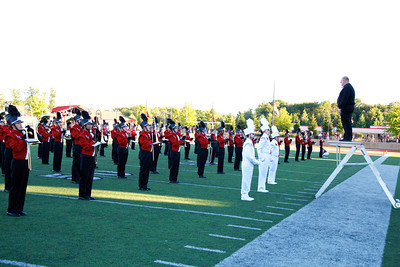 2013, East Kentwood Marching Band at FHC game.