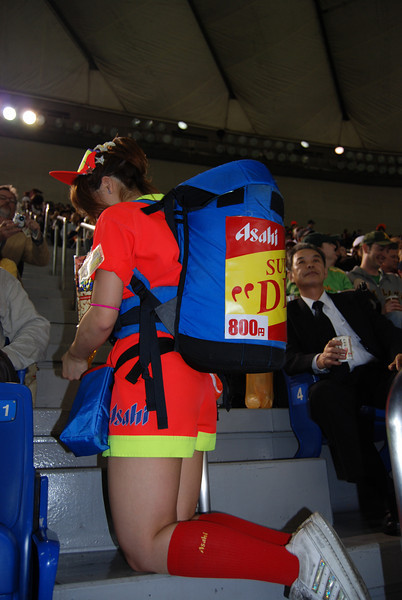 beer girl's getup - basically a minikeg on her back