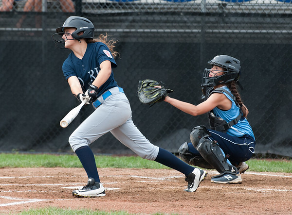 07/23/18 Wesley Bunnell   Staff York, ME defeated Peabody, MA 1-0 in Little League Eastern Region Softball on Monday afternoon.