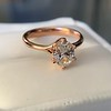 1.05ct Oval Cut Diamond Solitaire, GIA H SI1 8