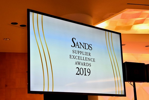 2019 Sands Supplier Excellence Awards