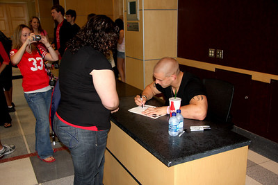 Celebrity Signing Series - James Laurinaitis - April 15, 2010