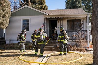 5846 S. Crocker St. Fire
