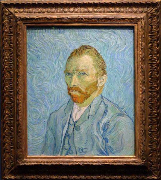Vincent Van Gogh, Self-Portrait, 1889